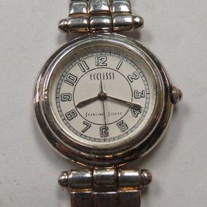 ECCLISSI ~ Sterling Silver Ladies' Quartz Watch ~